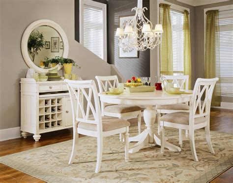 white rustic dining table set rustic white kitchen tables roselawnlutheran