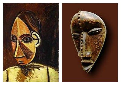 picasso paintings west africa africa project