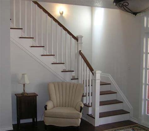Return Stairs Design Add Metal Balusters Railings Or Posts To Your Stairs