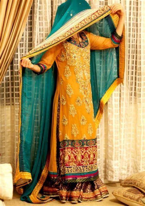 Latest Bridal Mehndi  Ee  Dresses Ee  Llection