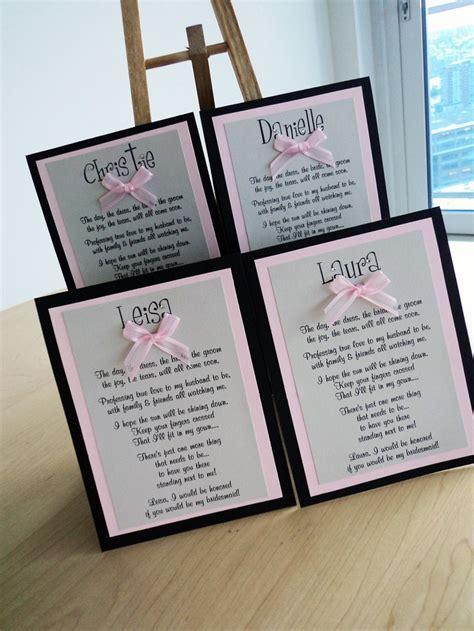 Will You Be My Bridesmaid Card, Bridesmaid, Wedding