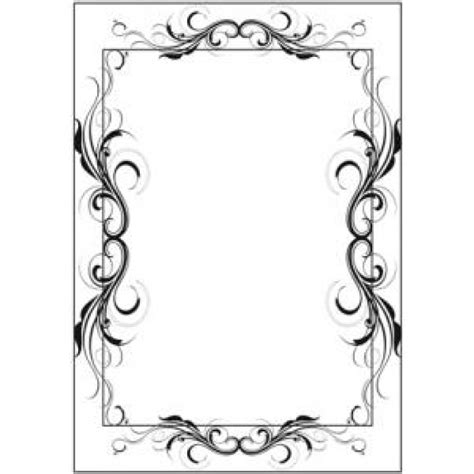 Fanciful Flourish fanciful flourish frame