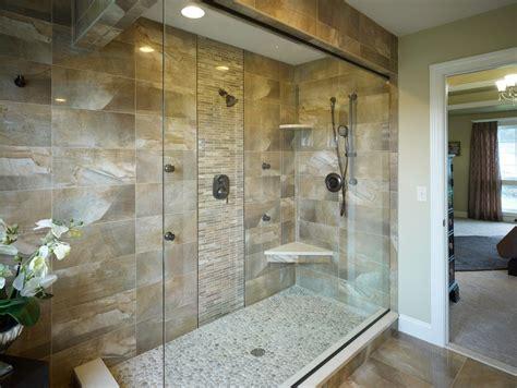 boston shower floor pebble tile contemporary bathroom