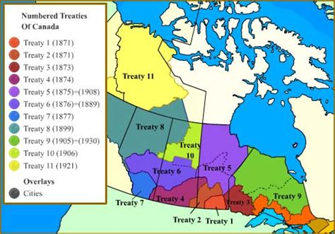 treaty map canada the more things change the more they stay the same