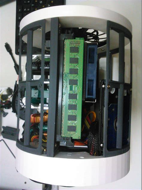 full printable itx case mac pro  style  model