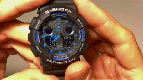 Casio G Shock Ga 100sd 8aer casio ga 100 1a2er