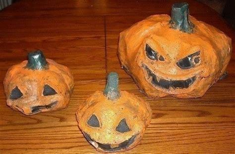 paper mache pumpkins 32 paper mache pumpkin diy craft ideas guide patterns