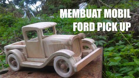 cara membuat mobil pick up dari kardus making ford pick uptoys part1 cara membuat mobil mainan