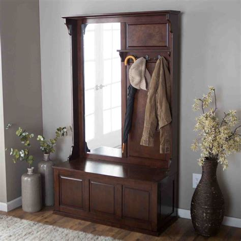 how to make a hall tree storage bench hall tree storage bench how to purchase home furniture