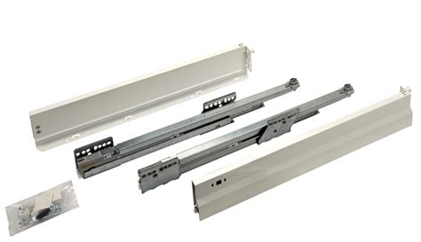 Drawer Side by Drawer Side Runner System Pro Classic Drawer Set