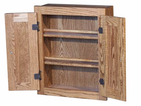 spice cabinet with doors oak spice cabinet raised panel drs amish furniture