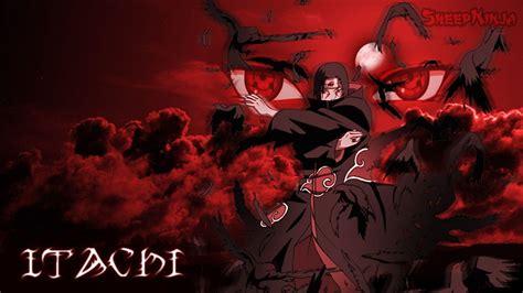 wallpaper hd anime untuk hp itachi backgrounds wallpaper cave