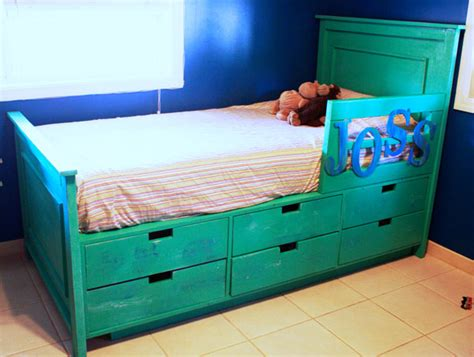 diy storage beds ana white fillman storage bed with drawers diy projects
