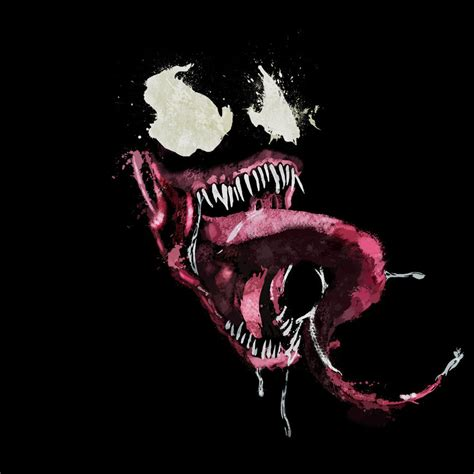 venom painting venom splatter by mcbearcat7557 on deviantart
