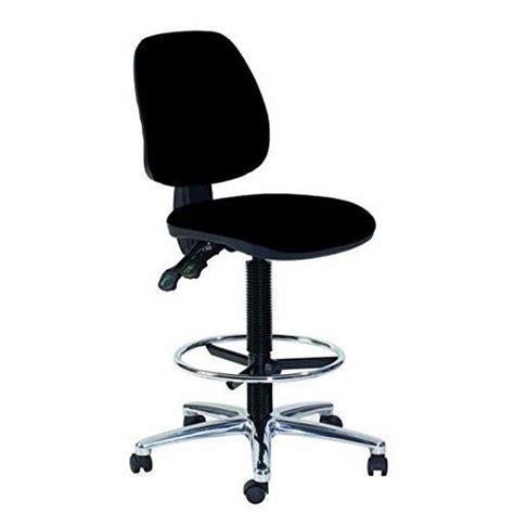 topsit ind haute chaise de bureau pivotante avec repose pieds assise  dossier en cuir