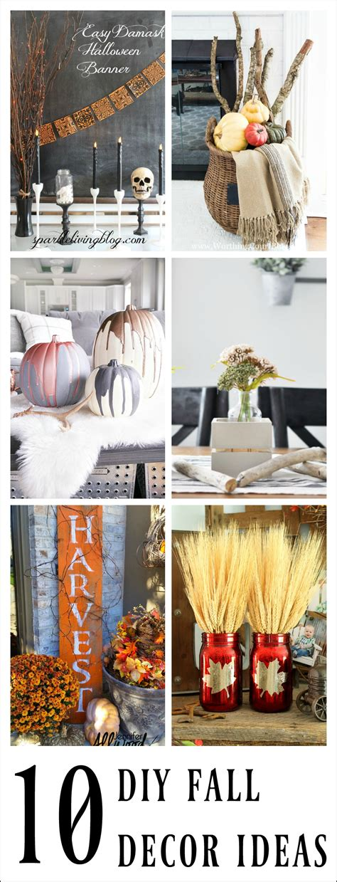 diy fall home decor awesome diy fall decor ideas work it wednesday the