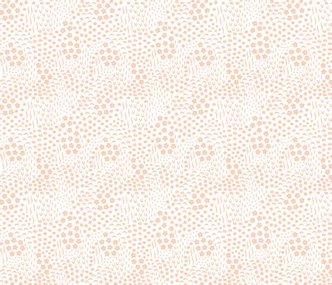 pastel peach pattern early spring pattern pastel peach 01 fabric