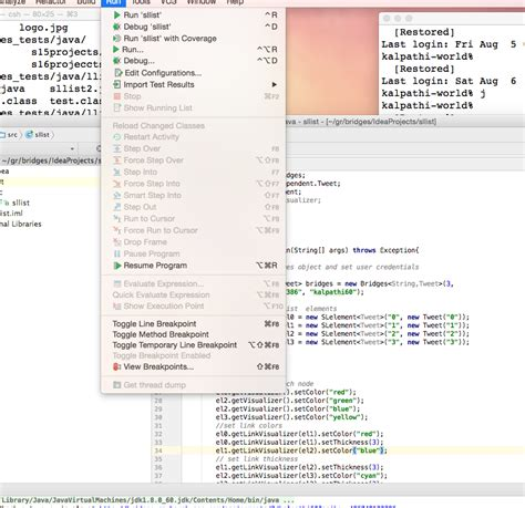 java tutorial github bridges java setup page for intellj ide