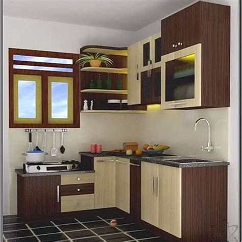 Design Kitchen Set Kitchen Set Mini Terbaru Dapur Minimalis Idaman Kitchen Sets Kitchens And