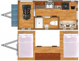 Home Design 8x16 by Mini Cabins