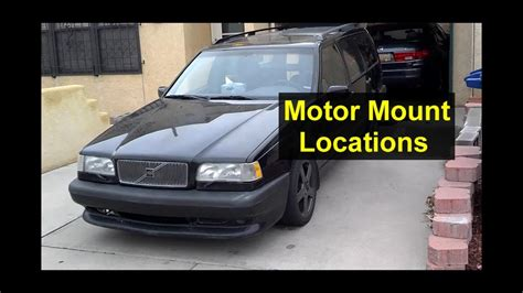 engine motor mounts location     volvo    votd youtube