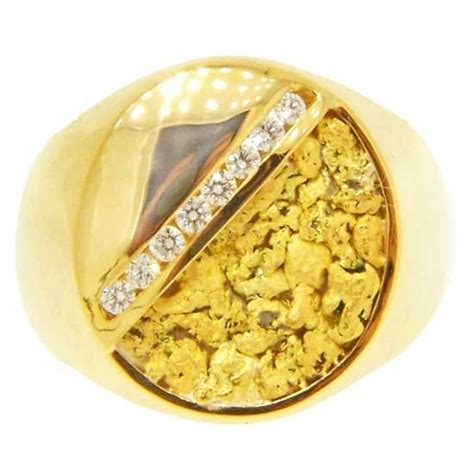 pin by gold jewelry on gold nugget rings