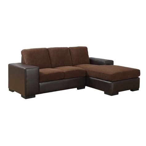Leather Lounger Sofa by And Leather Sofa Lounger In Brown I8200bb