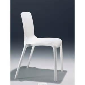 chaise design blanche et chaises casprini