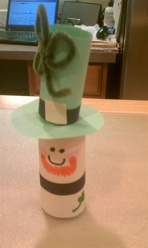 Leprechaun Toilet Paper Roll Craft - toilet paper roll leprechaun think crafts by createforless