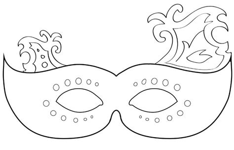 Free Printable Mardi Gras Mask Templates by Mardi Gras Printable Mask Activity Ideas S Block