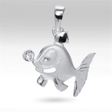 Silber Fisch by Kettenanh 228 Nger Fisch Silber 925 F 252 R Halskette