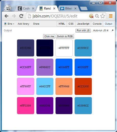 div background color change background color div tag using javascript