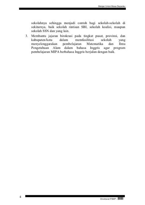 biography dlm bahasa inggris panduan pelaksanaan pembelajaran matematika dan ipa dlm