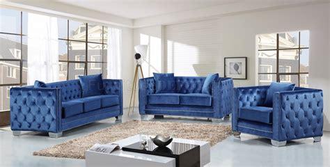 light blue velvet sofa reese 648ltblu sofa in light blue velvet fabric w optional