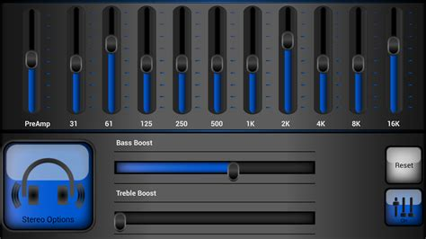 free equalizer app for android audio dsp 10 band equalizer android apps on