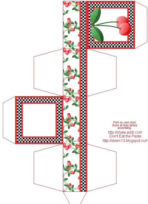 printable gift boxes don t eat the paste printable gift boxes by shala