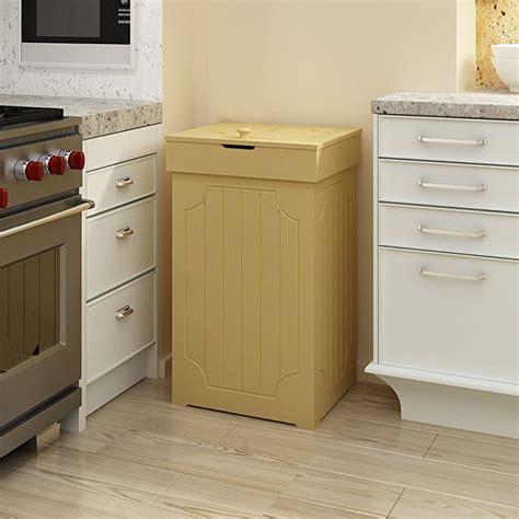 trash recycling bin cabinet wood trash bin cabinet 13 gallon recycling cans waste bins wood