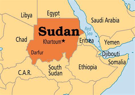 where is sudan on the world map nov 09 sudan operation world