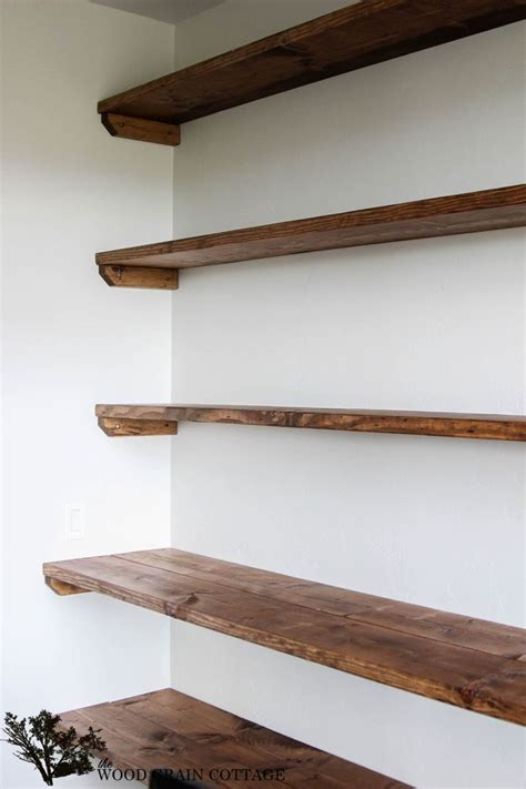 best 25 shelf supports ideas on farmhouse