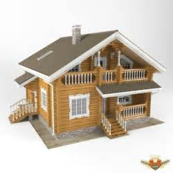 house 3d model free download wood house 3d model