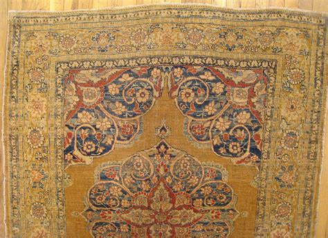 Small Decorative Rugs by Antique Tabriz Decorative Small Rug At