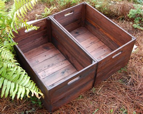 large crates set of large looney bin crates apple crates wooden crates storage reclaim
