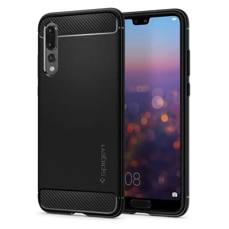 Casing Black spigen rugged armor huawei p20 pro tough black