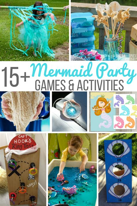 birthday themed lesson plans 15 mermaid party games activities mermaid party games