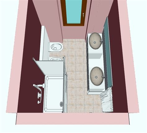progetti ristrutturazione bagno progetto ristrutturazione bagno con doccia e doppiolavabo