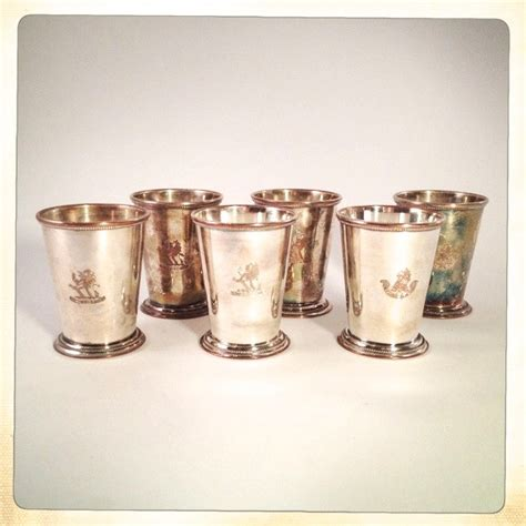 Julep Vases Wholesale by Vintage Mint Julep Cups Set Of 6 Exeter Henry