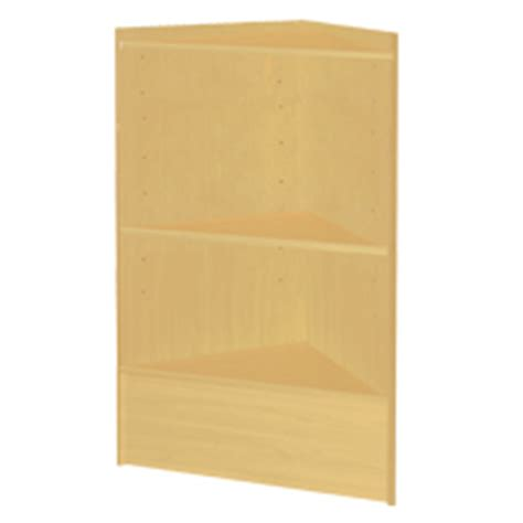 Maple Corner Shelf by Maple Triangle Corner With Wood Shelves Corner