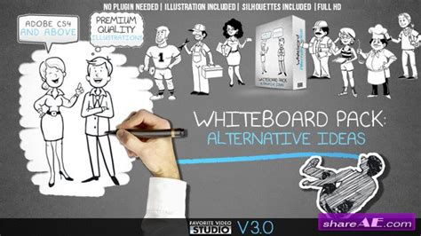Whiteboard Alternative Ideas After Effects Project Videohive 187 Free After Effects Templates Whiteboard After Effects Template