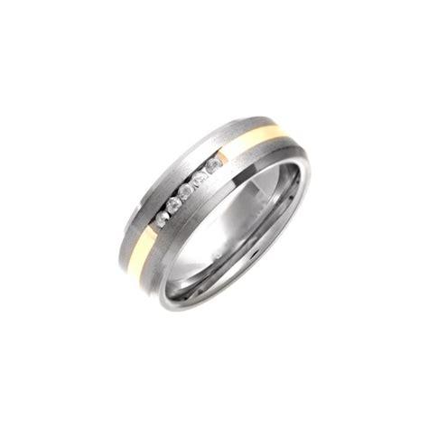 Titanium Rings by Titanium Polished Wedding Ring