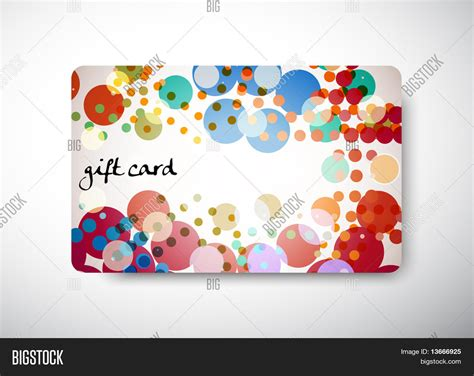 Gift Card Size - gift card size 3 3 8 quot x 2 1 8 quot vector photo bigstock
